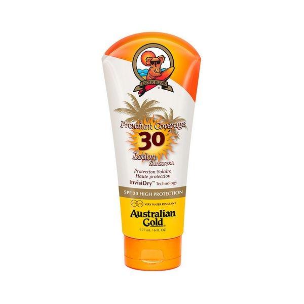 Sonne Lotion Premium Abdeckung Australischen Gold SPF 30 (177 ml)