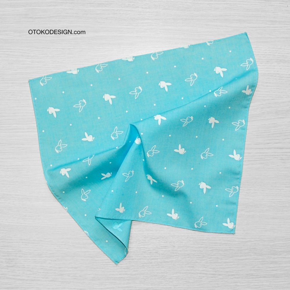 Pocket Square Jacket Blue Bunny Playboy White (51829)