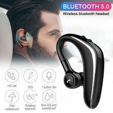 Беспроводные наушники с Bluetooth 5,0, длительная работа от аккумулятора, свободные руки, игровая гарнитура, деловые наушники, спортивные наушники для вождения с микрофоном