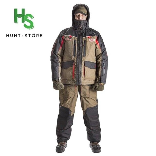 Мужской костюм для зимней рыбалки, непромокаемый непотопляемый для безопасности на воде 1