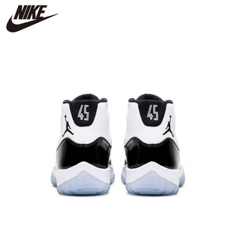 Nike Air Jordan 11 Retro Men Basketball Shoes Bred Heiress 72-10 GAMMA BLUE CONCORD 45 CAP AND GOWN LEGEND BLUE Sports Sneakers