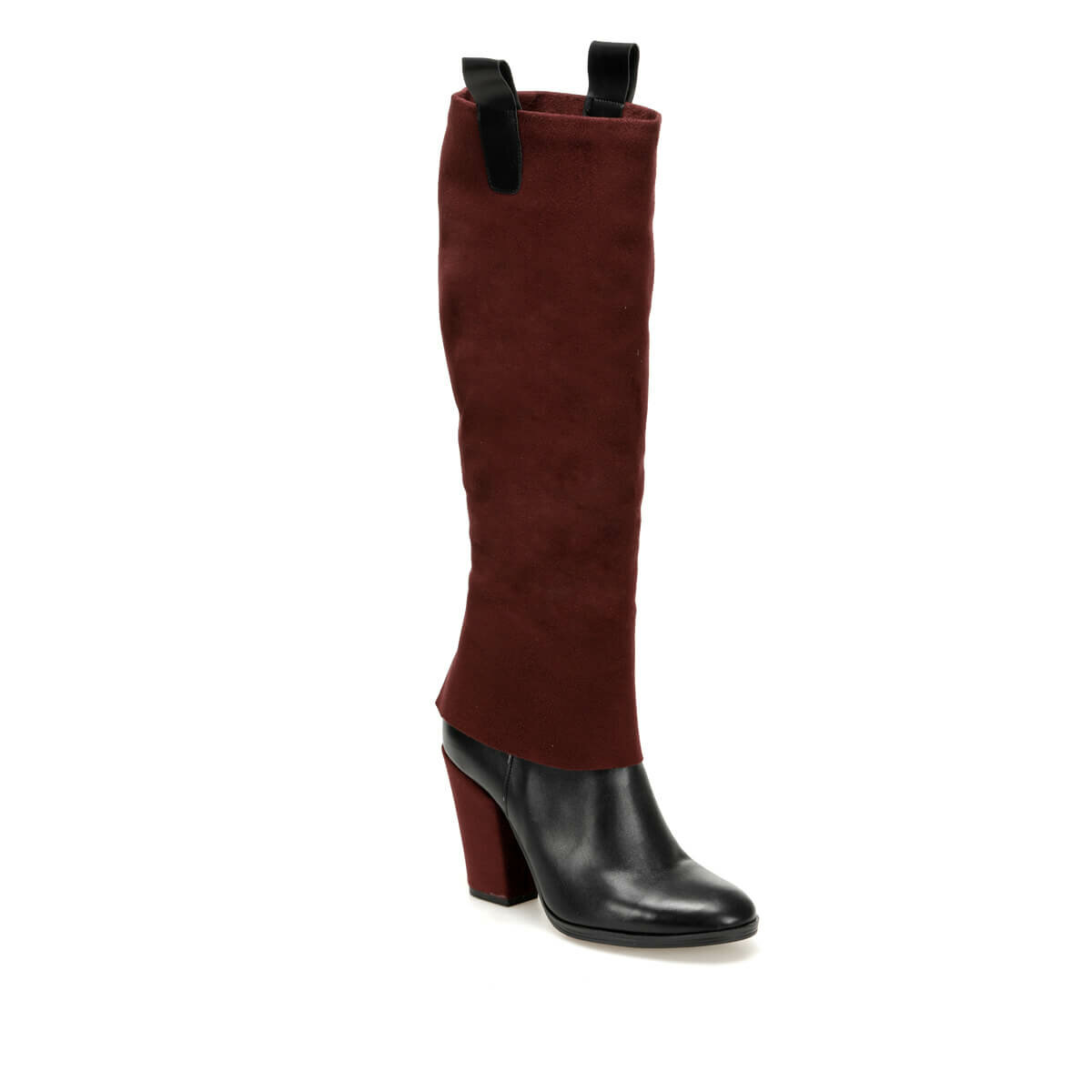 FLO PERSIE31Z SUEDE Maroon Women 'S Boots BUTIGO