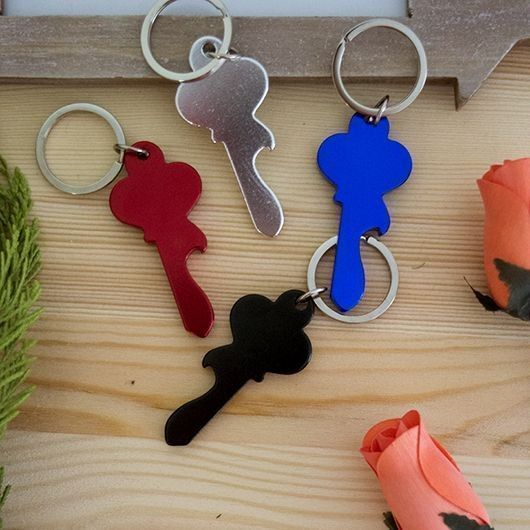 Keychain Wrench Ring Opener Bottle Opener-Details And Gifts For Weddings, Christening Suits, Communions, Birthday And Holiday.