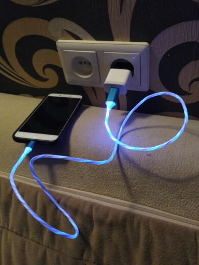 Glowing Cable Mobile Phone Charging Cables LED light Micro USB Type C Charger for iPhone X Samsung Galaxy S8 S9 Charge Wire Cord|Mobile Phone Cables| |  - AliExpress