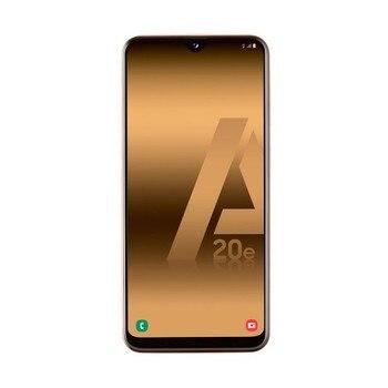 Перейти на Алиэкспресс и купить Samsung galaxy a20e choral mobile 4g dual sim 5,8 дюйма tft lcd hd +/8 ядер/32 ГБ/3 Гб ram/13 МП + 5 Мп/8 МП