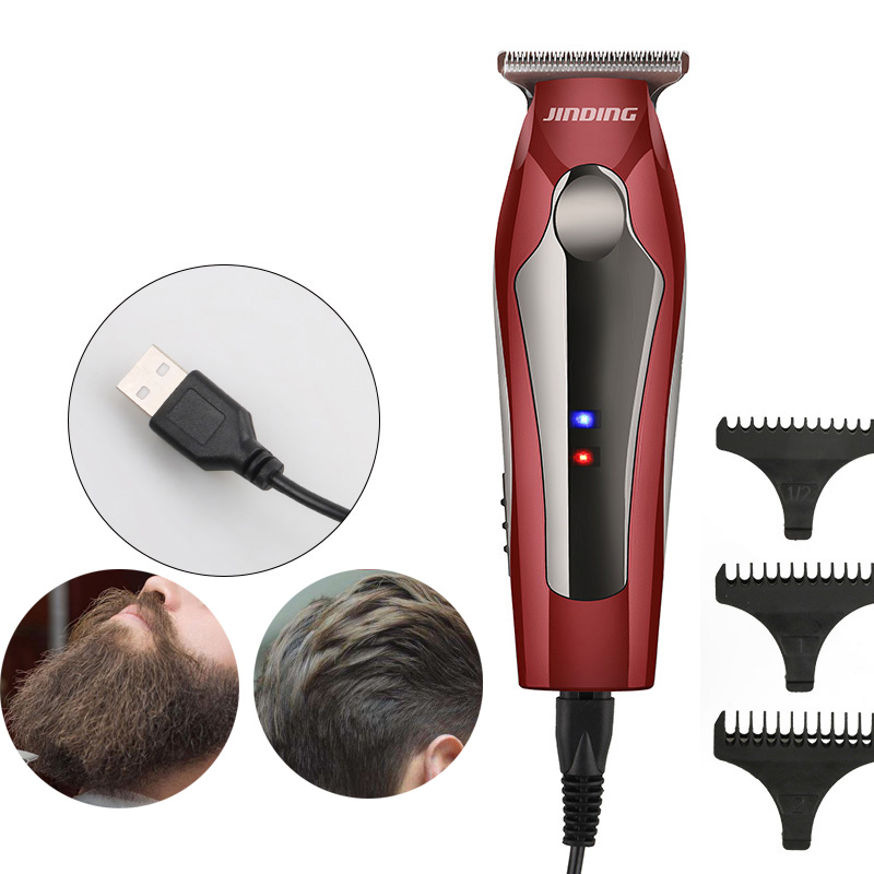 beard trimmer and Hair Clipper Rechargeable Electric Professional Digital Trimmer Mens Cordless Haircut Adjustable SU62