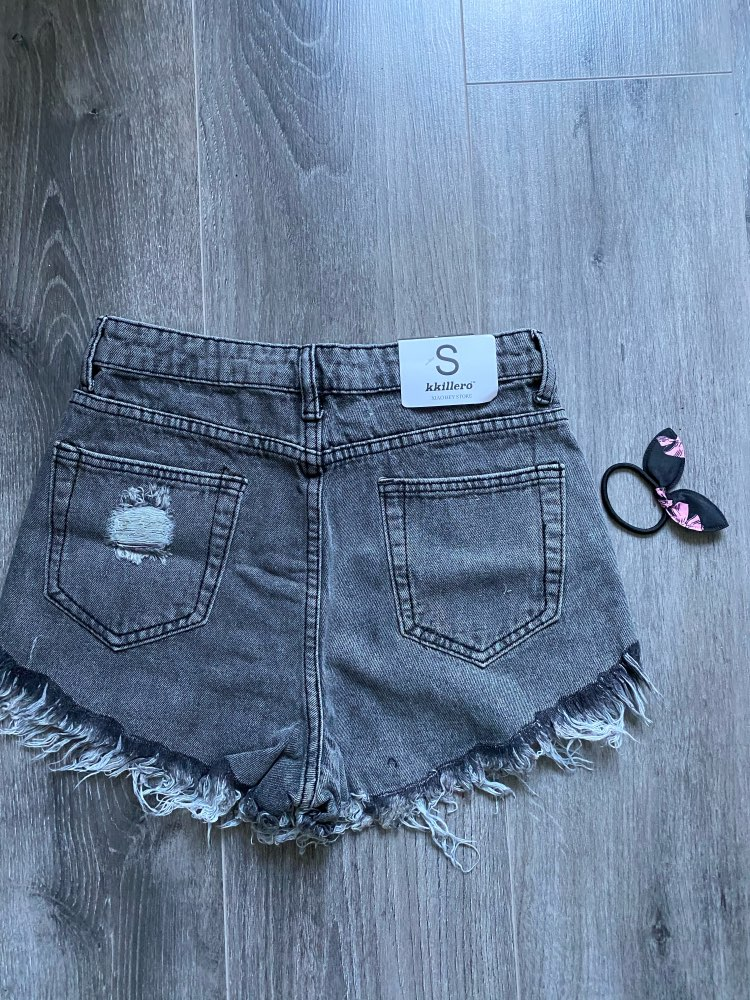 2019 European and American BF summer wind female blue high waist denim shorts women worn loose burr hole jeans shorts|waist denim shorts|high waisted denim shortsdenim shorts - AliExpress