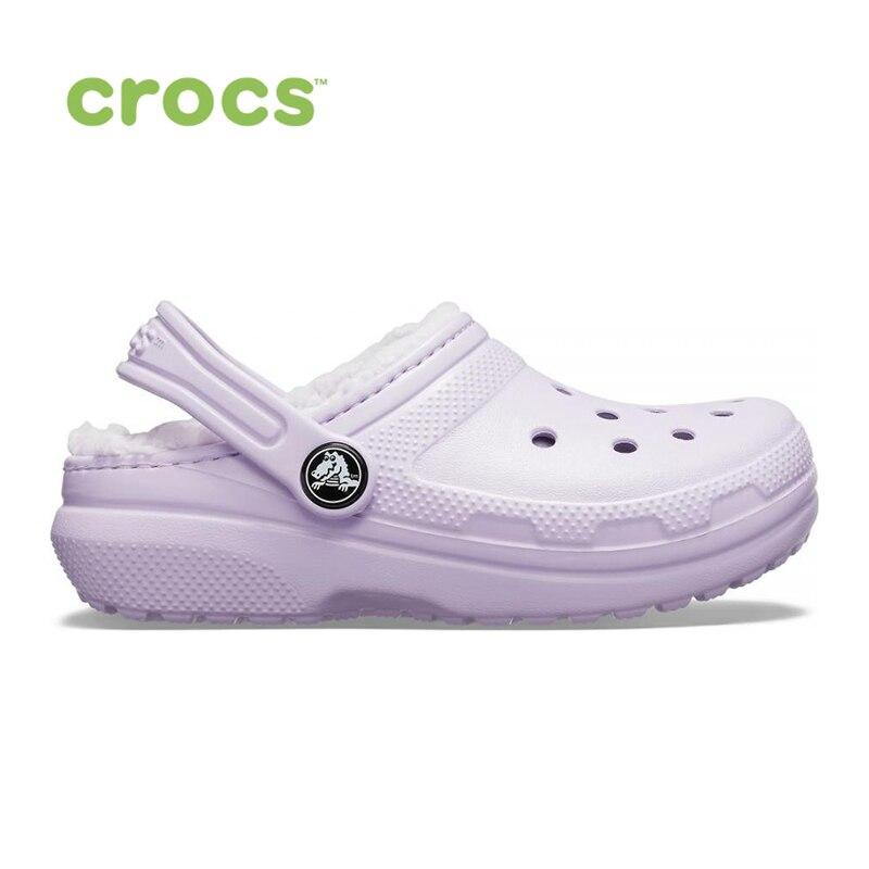 CROCS Classic Lined Clog K KIDS| |   | АлиЭкспресс