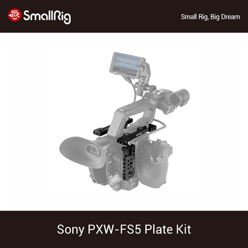 SmallRig FS5 Plate Kit for Sony PXW FS5 Top Plate + Side Plate Kit With Cold Shoe Mount And Arri Locationg Holes -1843
