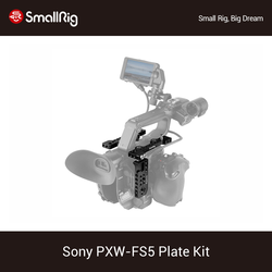 SmallRig FS5 płyta zestaw do Sony PXW FS5 górną płytką + talerzyk na pieczywo zestaw z zimna butów zamontować i Arri Locationg otwory-1843