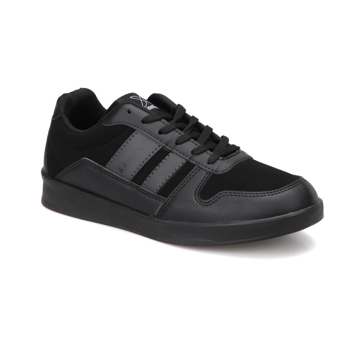 FLO MONTEL Black Men 'S Sneaker Shoes KINETIX
