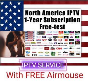 1pcs IPTV subscription for 1 Year HUTV code Canada USA English 4K HD for Firestick Android box sports adults hot channels iptv