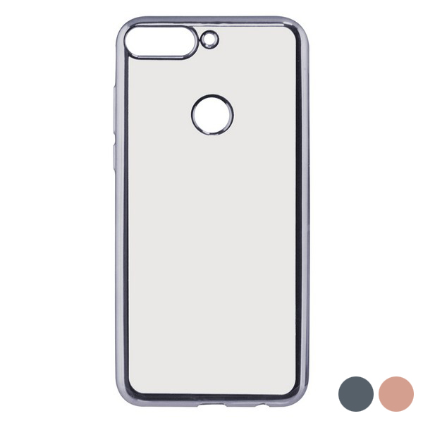 Mobile cover Huawei Y7 2018 Flex Metal TPU Flexible|  - title=