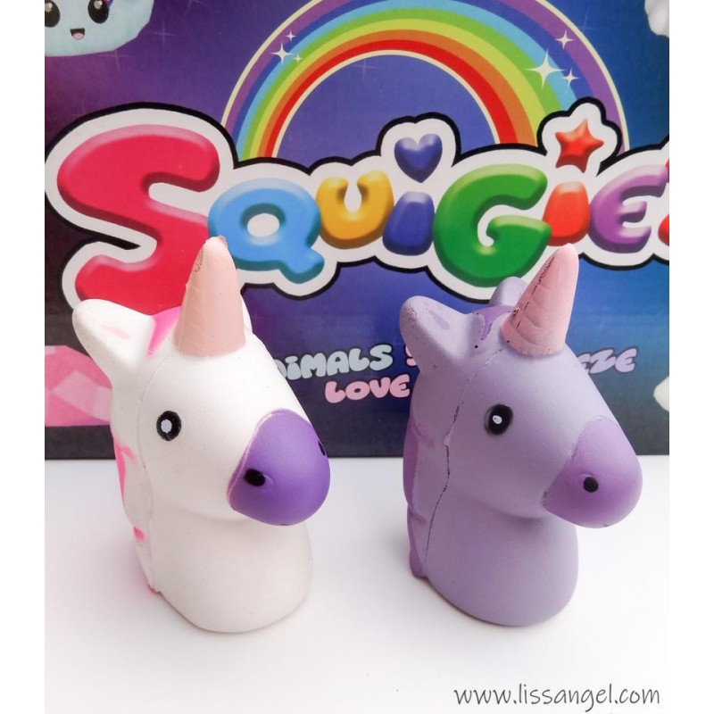 Unicorn Head Squishy (Slow Rising)