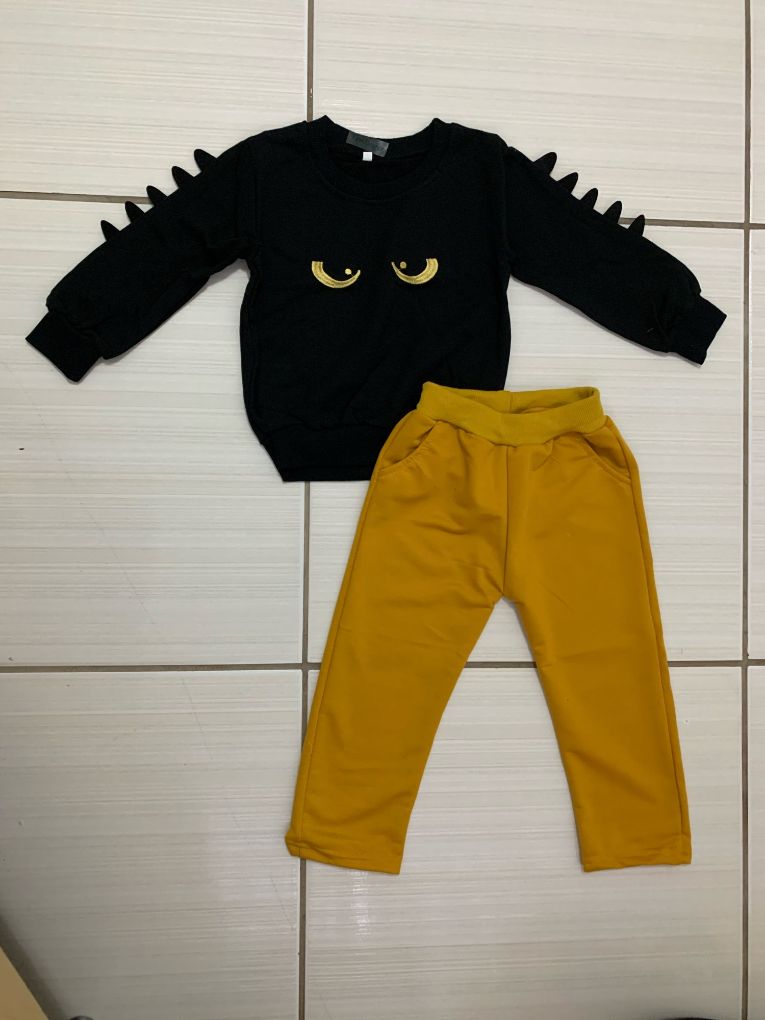 Kids Clothing Sets Long Sleeve T-Shirt Pants, Autumn Spring Children's Sports Suit Boys Clothes Free Shipping photo review