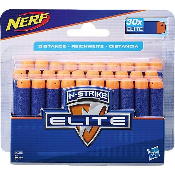 Jeu de flèches pour blaster Nerf Elite 30 pièces
