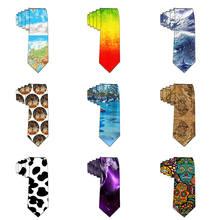 Мужская мода узкие галстуки новинка галстук полиэстер красочный галстук для мужчин Бизнес свадьба роскошный шеи corbatas хомбре