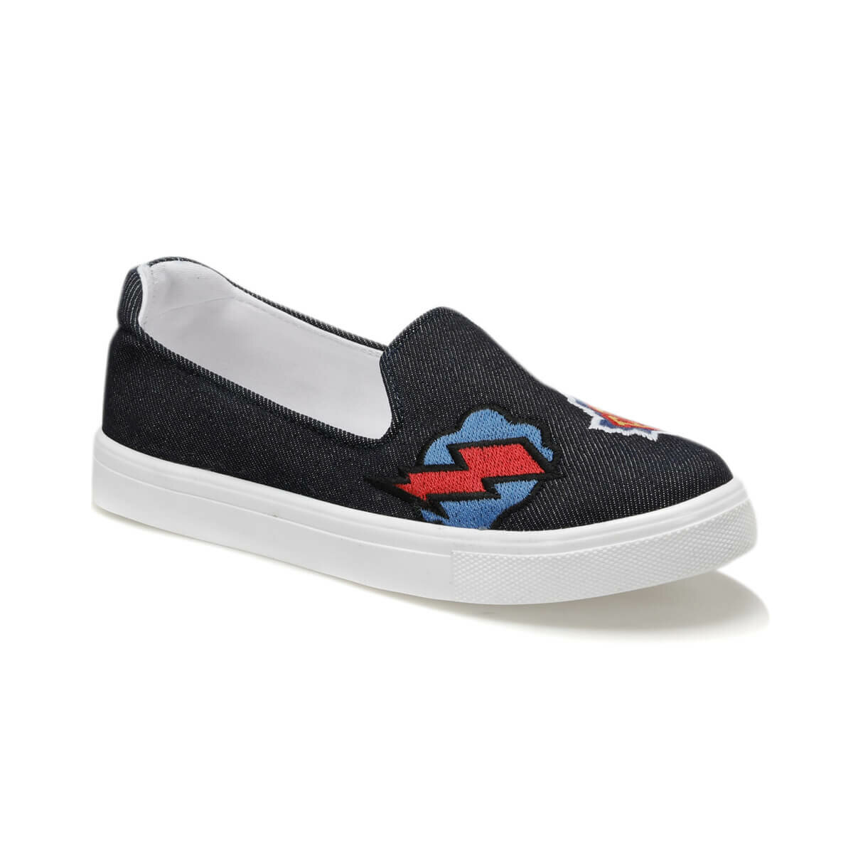 FLO U1304 Navy Blue Women 'S Slip On Shoes Art Bella