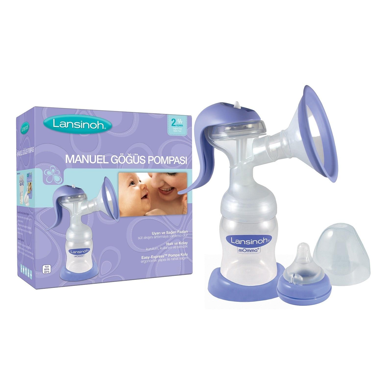 Ebebek Lansinoh Manual Breast Pump