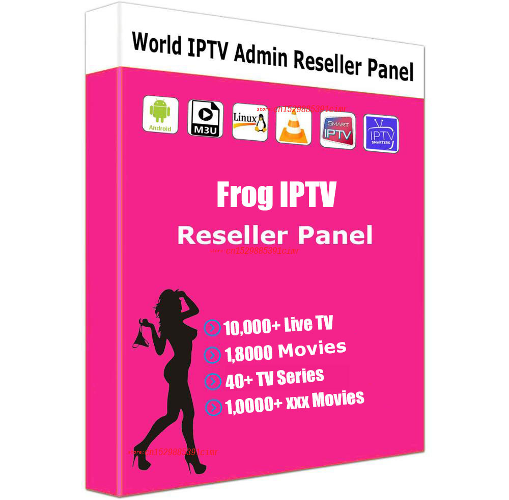 Iptv France Panel Reseller Iptv Control Panel With Credits Contains 10000+Live For IPTV Resellers IPTV M3U Spain