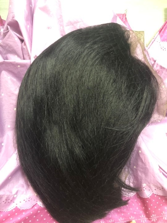 Hd Full Lace Frontal Bob Wigs 30 40 Inch Brazilian Hair Pre Plucked For Black Women photo review