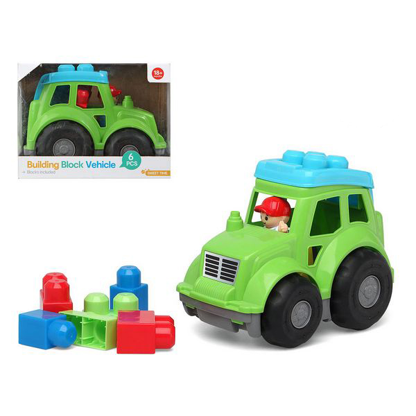 Lorry With Building Blocks 114584 (6 Pcs)