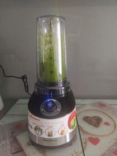 Moulinex - Batidora de vaso Freshboost 800W + 2 botellas para llevar