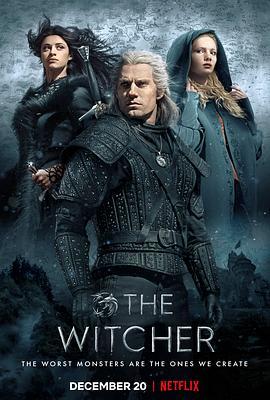 獵魔人第一季的海報