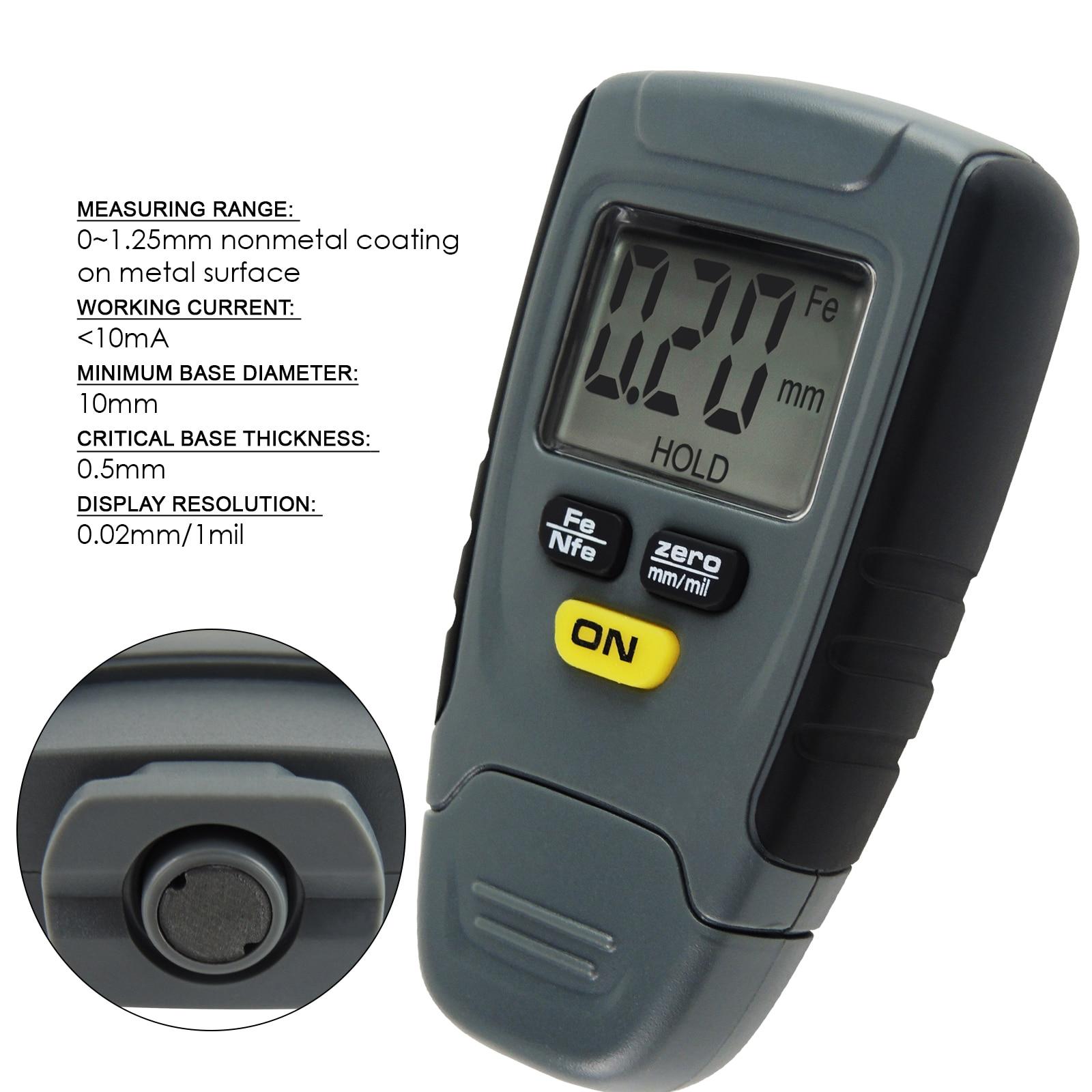 FB 0-20mm car tyre tire tread depth gauge meter measurer tool