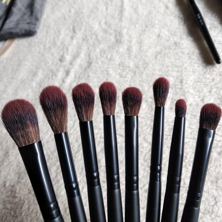 Jessup New Arrival Makeup brushes brushes Phantom Black 3-21pcs Foundation brush Powder Concealer Eyeshadow Synthetic hair reviews №4 49088