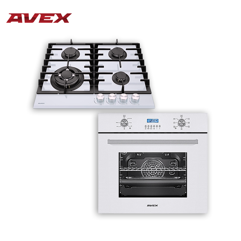 Set The Cooktop AVEX HM 6042 W And  Electric Oven AVEX HM 6170 W Home Appliances Major Appliances Gas Cooking Surface Hob Cooker