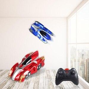 Image 5 - Zdalnie sterowany samochód wyścigowy dla dzieci, zabawka, wspinanie po ścianie, suficie, na pilot, model, Boże Narodzenie