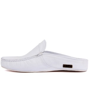 Image 3 - Sail Lakers Genuine Leather Men Slippers Rubber Soled Outdoor Slipper Flat Slippers Slip On Fashion Luxury Loafers zapatos de mujer туфли женские обувь женская