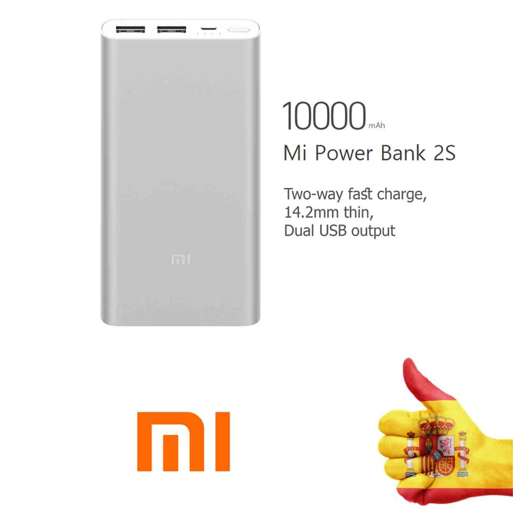 LAPTOP BATTERY MI POWER BANK 2S 10000 MAH X I A OR M I portable external Port Quick Charger powerbank for Mobile