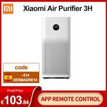 Xiaomi-purificateur d'air Mi 3, filtre d'air, ozone frais, pour la maison auto fumée, formaldéhyde, stérilisateur Mijia APP contrôle
