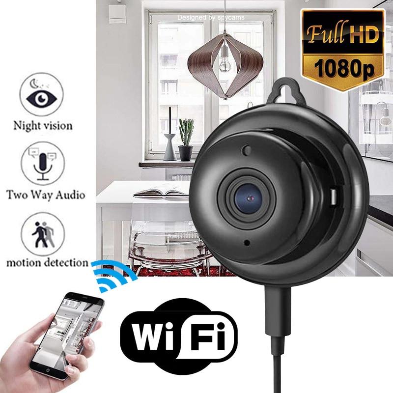 Mini WiFi Spy Hidden Camera HD 1080P IP Wireless DIY Home Security Camcorder USA