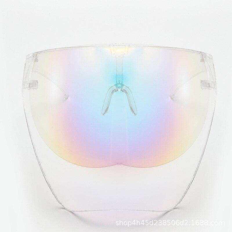 Men's Women's Faceshield Protective Glasses Goggles Safety Glasses Anti-Spray Mask Protective Goggle Glass Sunglasses 26