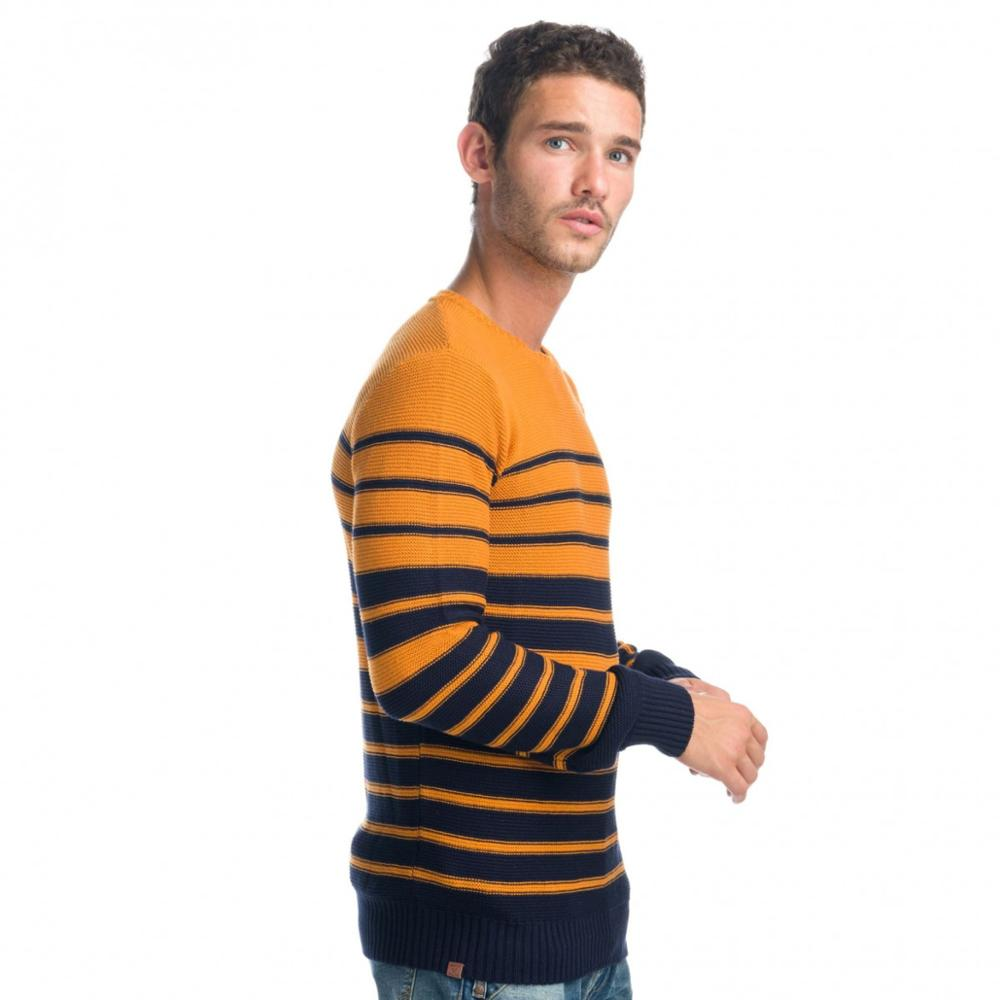 KOROSHI JERSEY 'S STRIPES NECK MAN
