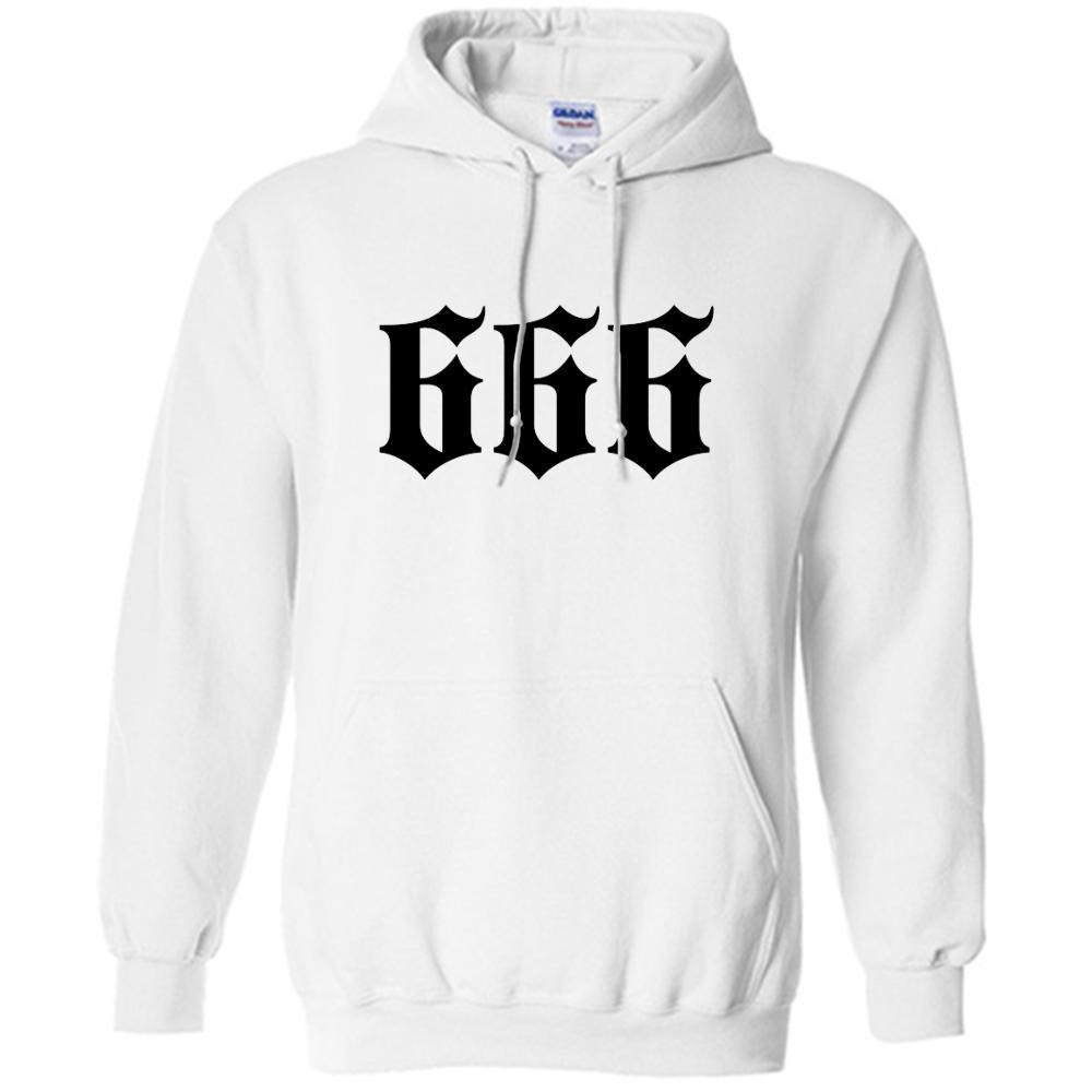 Men's Merch Morgenshtern 666 Hoodies Spring Long Sleeve Hooded Sweatshirts Unisex Pullovers мерч моргенштерн 666 White Hoodie