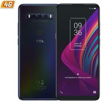 Перейти на Алиэкспресс и купить Мобильный телефон Смартфон tcl 10 se Полар-флиса ночное-6,52 '/16,5 см hd + - mediatek helio p22, 4 Гб оперативной памяти-128 ГБ-cam (48 + 5 + 2 Мп)/8mp-android