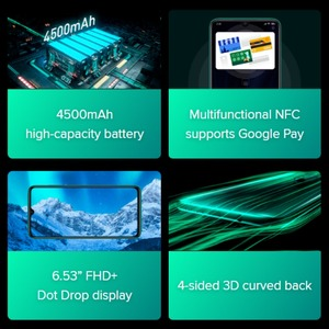 Image 5 - الإصدار العالمي شاومي ريدمي نوت 8 برو 64 جيجابايت روم 6 جيجابايت رام (العلامة التجارية الجديدة/مختومة) ، نوت 8 برو الهاتف الذكي المحمول
