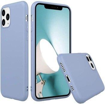 Funda Goma Pastel para Samsung A21S Azul