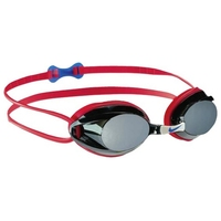Adult Swimming Goggles Nike 93011 627 Red (One size)
