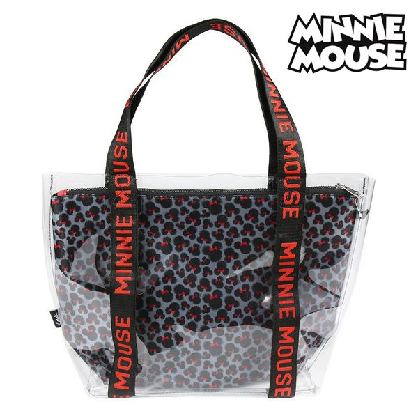 Bag Minnie Mouse 72899 Transparent Grey
