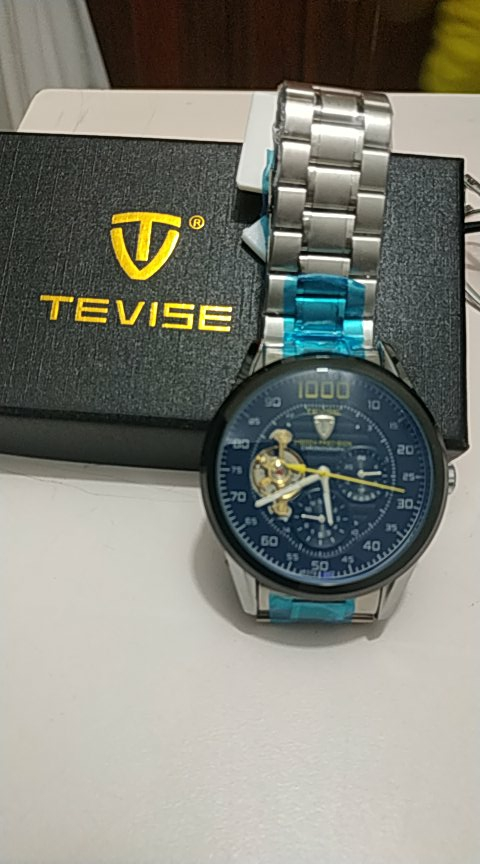 -- Relógio Tevise Automatico