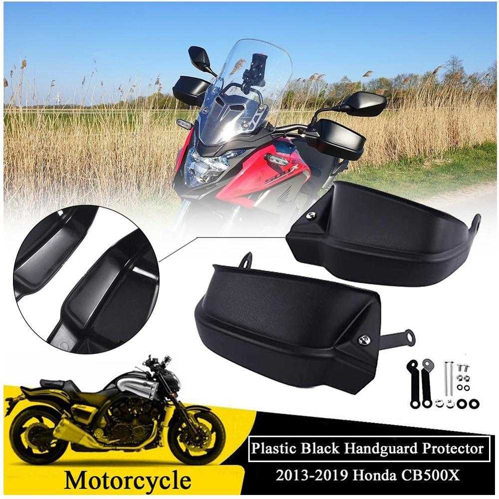 For <font><b>Honda</b></font> <font><b>CB500X</b></font> CB190SS Handguard Brush Bar Hand Guard Brake Shell Protection Wind Shield Cover CB 500X 13-19 2019 2018 <font><b>2017</b></font> image