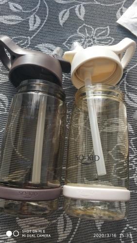 Water Plastic Bottle 550ml 850ml  Gourde En Plastique Sport Shaker Bottle Protein Shaker Drink Bottle Plastic With Straw Travel|Water Bottles|   - AliExpress