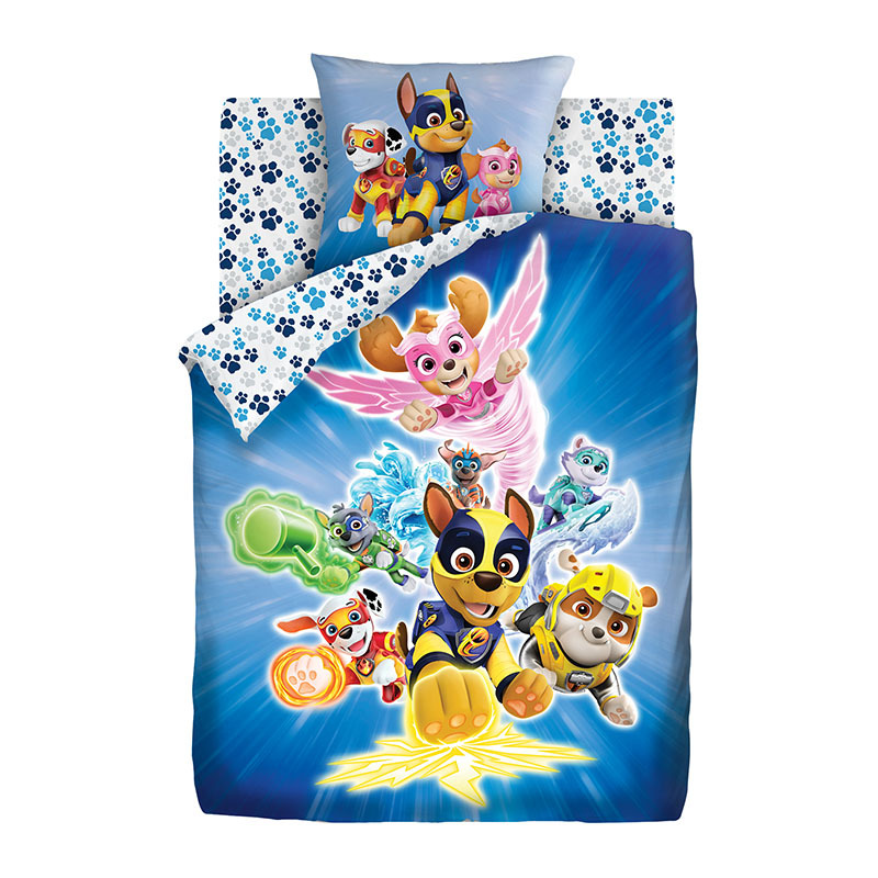 "Kids Bedding Made Of 100% Cotton ""Paw Patrol"""