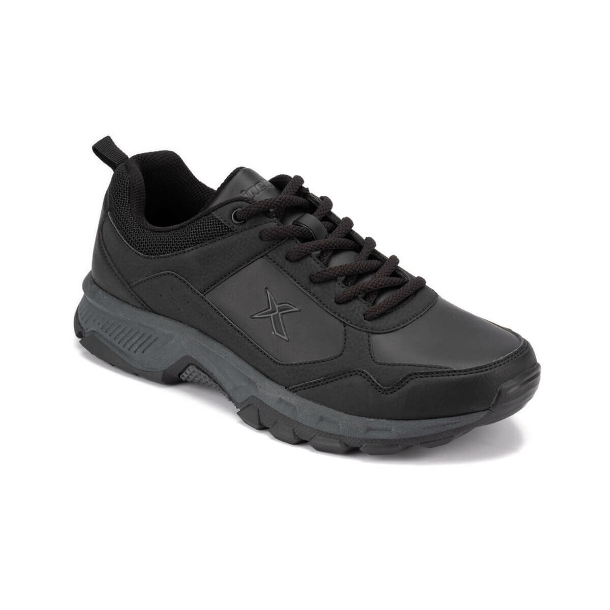 FLO FALKE 9PR Black Men 'S Trekking Shoes KINETIX