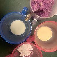 紫薯•芋泥蛋糕的做法图解15
